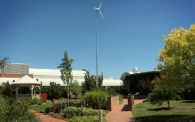 Skystream wind turbine, Swinburne